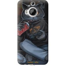 Чехол на HTC One M9 Plus gamer cat