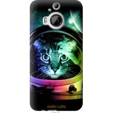 Чехол на HTC One M9 Plus Кот космонавт