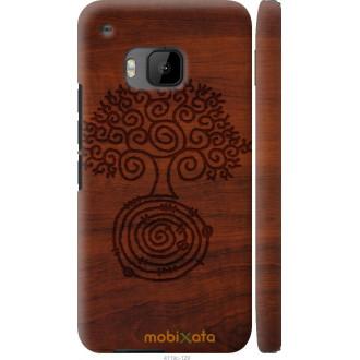 Чехол на HTC One M9 Узор дерева