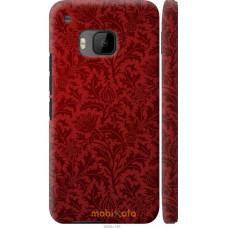 Чехол на HTC One M9 Чехол цвета бордо
