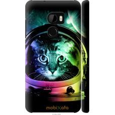 Чехол на HTC One X10 Кот космонавт