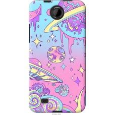 Чехол на HTC Desire 300 'Розовый космос