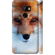 Чехол на HTC One X10 Рыжая лисица