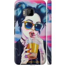 Чехол на HTC One M9 Стильная девушка