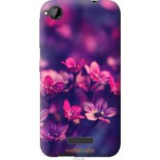 Чехол на HTC Desire 320 Весенние цветочки