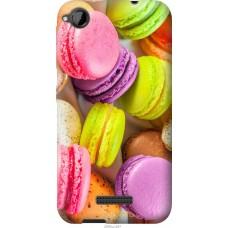 Чехол на HTC Desire 320 Вкусные макаруны