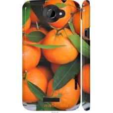 Чехол на HTC One X Мандарины