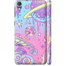 Чехол на HTC Desire 820 'Розовый космос