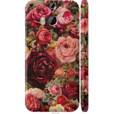 Чехол на HTC One M8 dual sim Прекрасные розы