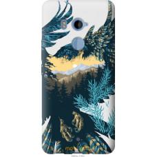 Чехол на HTC U11 Plus Арт-орел на фоне природы