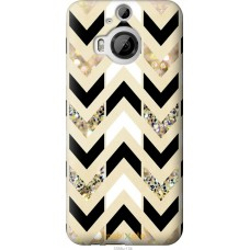 Чехол на HTC One M9 Plus Шеврон 10