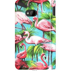 Чехол на HTC One M7 Tropical background