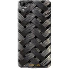 Чехол на HTC Desire 728G Металлические фоны