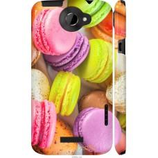 Чехол на HTC One X Вкусные макаруны