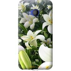 Чехол на HTC U11 Life Лилии белые