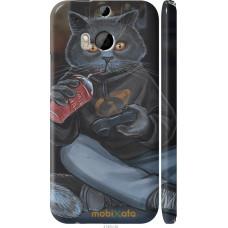 Чехол на HTC One M8 gamer cat