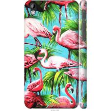 Чехол на HTC Desire 816 Tropical background