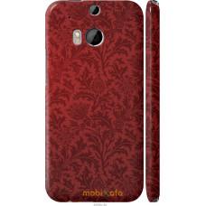 Чехол на HTC One M8 dual sim Чехол цвета бордо