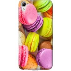 Чехол на HTC Desire 826 dual sim Вкусные макаруны
