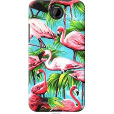 Чехол на HTC Desire 300 Tropical background