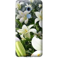 Чехол на HTC U11 Plus Лилии белые