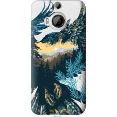 Чехол на HTC One M9 Plus Арт-орел на фоне природы