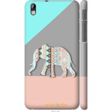 Чехол на HTC Desire 816 Узорчатый слон