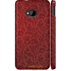 Чехол на HTC One M7 Чехол цвета бордо