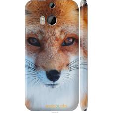 Чехол на HTC One M8 Рыжая лисица