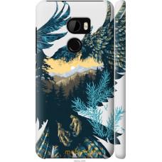 Чехол на HTC One X10 Арт-орел на фоне природы