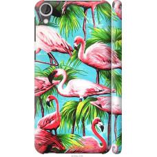 Чехол на HTC Desire 820 Tropical background