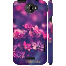 Чехол на HTC One X+ Весенние цветочки
