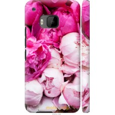 Чехол на HTC One M9 Розовые цветы