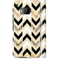 Чехол на HTC One M9 Шеврон 10