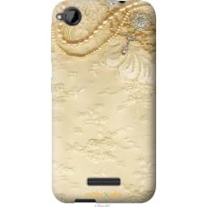 Чехол на HTC Desire 320 'Мягкий орнамент