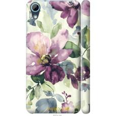 Чехол на HTC Desire 628 Dual Sim Акварель цветы