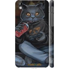Чехол на HTC Desire 816 gamer cat
