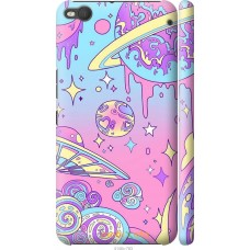 Чехол на HTC One X9 'Розовый космос