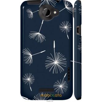 Чехол на HTC One X+ одуванчики