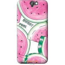 Чехол на HTC One A9 Розовый арбузик