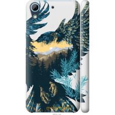 Чехол на HTC Desire 626G Арт-орел на фоне природы