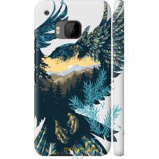 Чехол на HTC One M9 Арт-орел на фоне природы