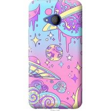 Чехол на HTC U11 Life 'Розовый космос
