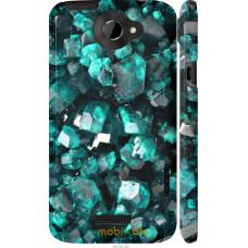 Чехол на HTC One X+ Кристаллы 2