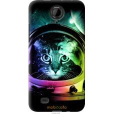 Чехол на HTC Desire 300 Кот космонавт