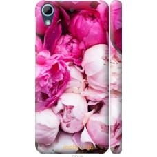 Чехол на HTC Desire 628 Dual Sim Розовые цветы