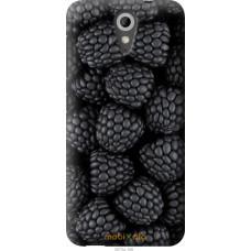 Чехол на HTC Desire 620 Черная ежевика