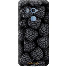 Чехол на HTC U11 Plus Черная ежевика