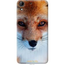 Чехол на HTC Desire 728G Рыжая лисица