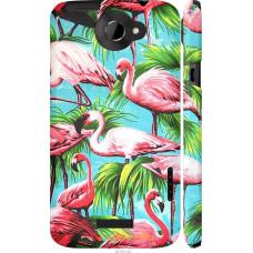 Чехол на HTC One X Tropical background